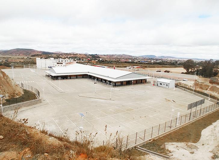 Visite de la nouvelle gare routière d'Ambohimanambola-7